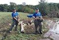 Спасатели помогают жителям Приморья