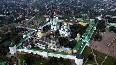 Троице-Сергиева лавра в городе Сергиевом Посаде Московской области