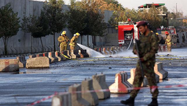 Афганские солдаты в Кабуле. Архивное фото