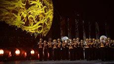 Центральный военный оркестр Министерства обороны РФ на Международном военно-музыкальном фестивале Спасская башня - 2016