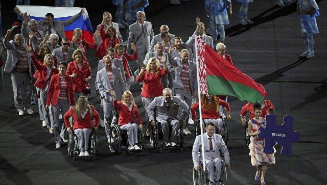 Флаг России на открытии Паралимпиады испортил настроение западным СМИ