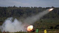 Реактивная система залпового огня БМ-21 Град. Архивное фото