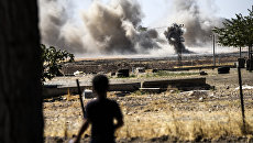 Операция по освобождению от боевиков террористической группировки Исламское государство. Архивное фото