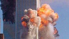 Во время теракта 11 сентября 2001 года в Нью-Йорке. Архивное фото