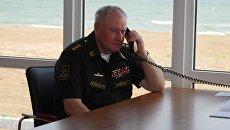 Главнокомандующий ВМФ России Адмирал Владимир Королев совершил плановую рабочую поездку на Каспийскую флотилию