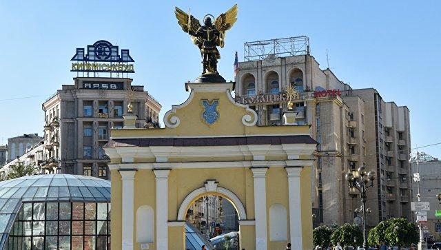 Лядские ворота на площади Независимости в Киеве. Архивное фото