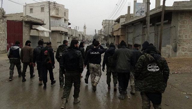 Бойцы Ахрар аш-Шам в Алеппо. Архивное фото