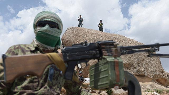 При авиаударе НАТО впровинции Урузган погибли 8 служащих афганской милиции