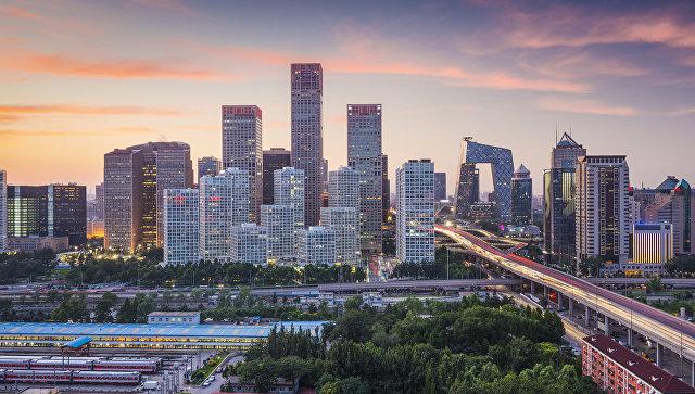 Город Пекин. Китай