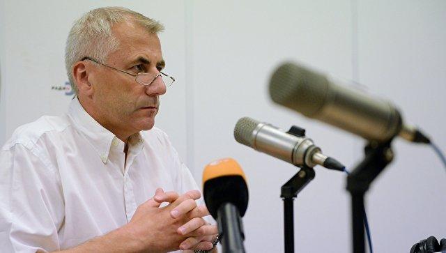 Ушацкас получил запрос омбудсменаРФ опоставке Литвой вооружений Украине