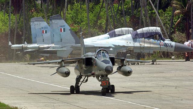 В Индии разбился истребитель ВВС страны Jaguar