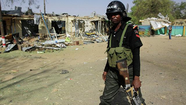 Полиция Нигерии, архивное фото