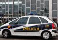 Автомобиль испанской полиции