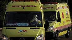 Водитель скорой помощи в Испании. Архивное фото