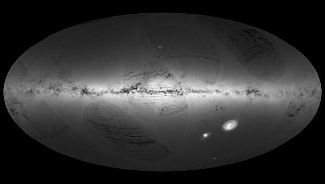 Ученые показали видео нашей галактики через 5 млн лет