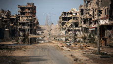 Вид на город Сирт, Ливия. Архивное фото