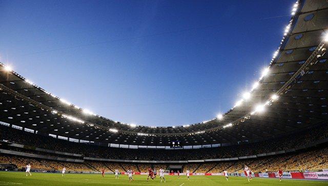 Стадион национального спортивного комплекса Олимпийский в Киеве. Архивное фото