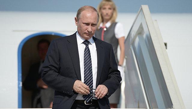 Путин прилетел в КНР для участия в консилиуме «Один пояс— один путь»