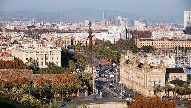 Барселона. Испания. Архивное фото
