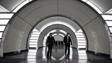 Станция Фонвизинская Люблинско-Дмитровской линии Московского метрополитена. Архивное фото
