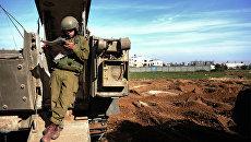 Боец армии Израиля. Архивное фото