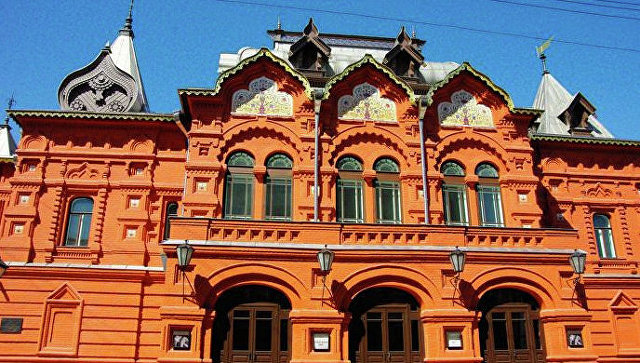 Здание Государственного Театра Наций. Архивное фото