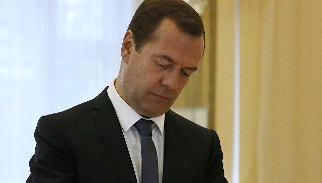 Путин поздравил премьера Дмитрия Медведева сднем рождения