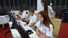 Общественный штаб по наблюдению за выборами в Госдуму РФ. Архивное фото