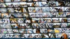 Работа ЦИК в Единый день голосования в России. Архивное фото