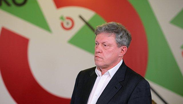 Яшин обвинил Касьянова вполитической несостоятельности иушел изПАРНАСа