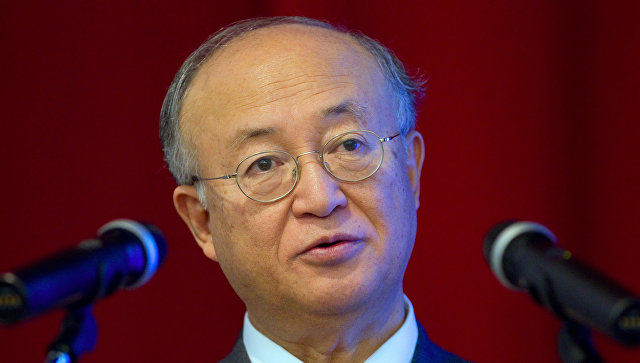 Генеральный директор МАГАТЭ Юкио Амано. Архив