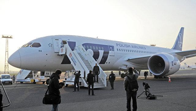 Самолет Boeing 787 Dreamliner авиакомпании LOT. Архивное фото