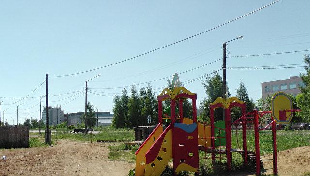 Детская площадка. Архивное фото