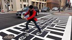 Пешеходный переход в Балтиморе