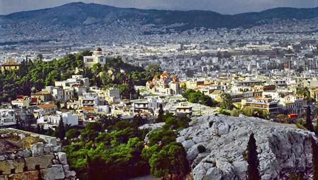 Вид на город Афины. Архивное фото