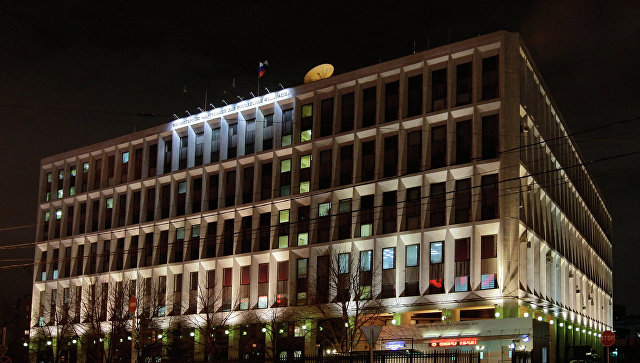 Здание Министерства внутренних дел РФ. Архивное фото