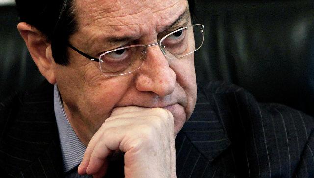 Президент Кипра Никос Анастасиадис. Архивное фото