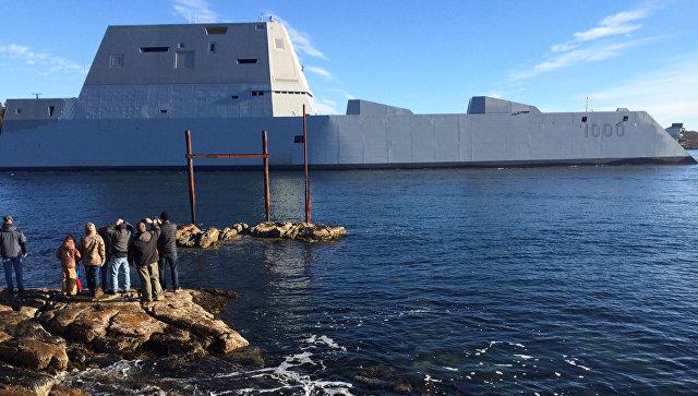 Эсминец ВМС США USS Zumwalt