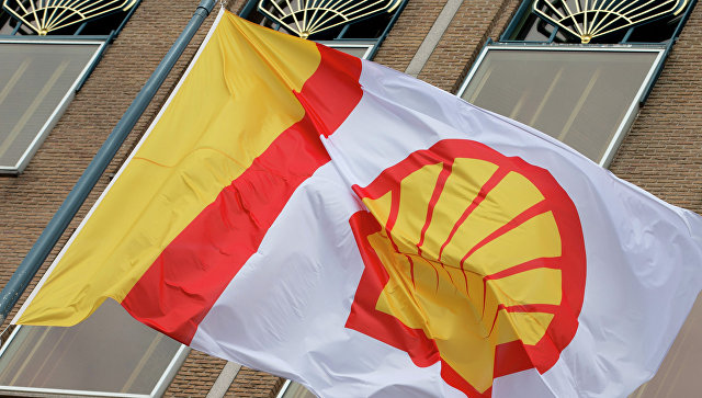 Флаг компании Shell