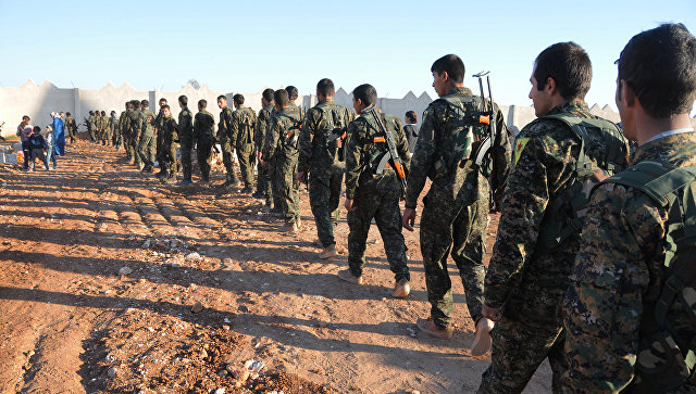 Демократические силы Сирии. Архивное фото