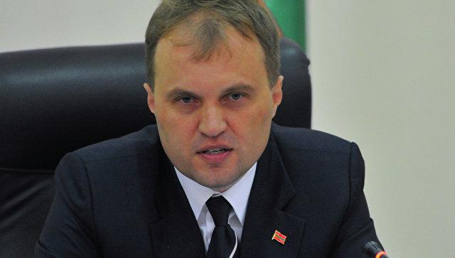 Лидер Приднестровской Молдавской Республики Евгений Шевчук. Архивное фото