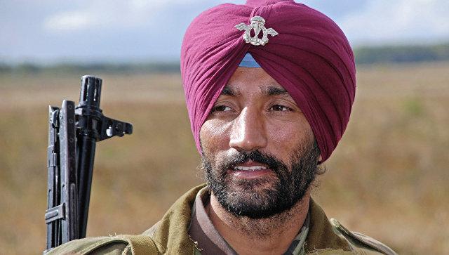 Индийский военный. Архивное фото