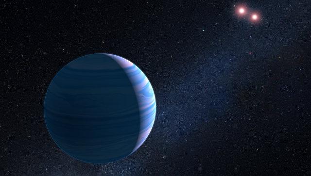 Планета OGLE-2007-BLG-349 b в созвездии Стрельца