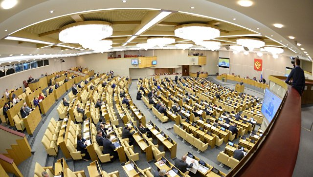 Заседание Госдумы РФ. Архивное фото