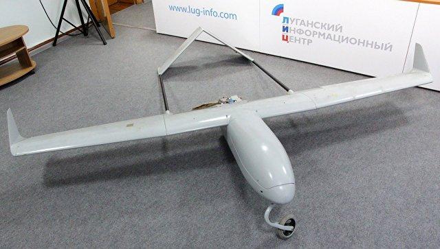 В ЛНР перехватили летевший на Луганск беспилотник со взрывчаткой