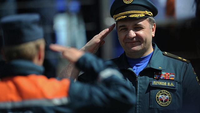 Ярославль посетил руководитель МЧС Российской Федерации Владимир Пучков