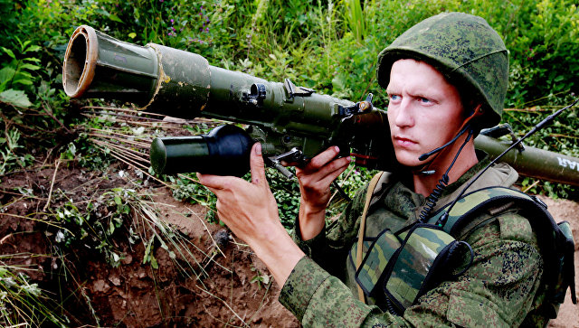 Сверхманевренный мотострелковый батальон создан вЦВО