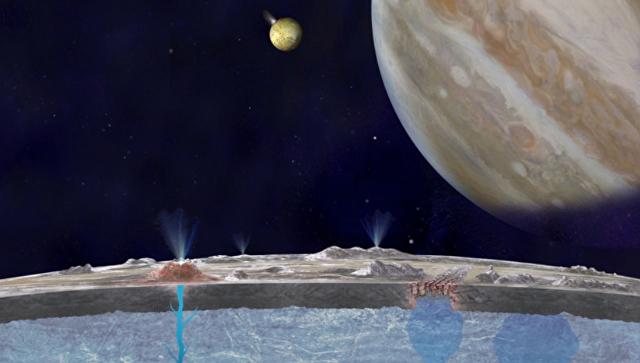 Вначале рабочей недели вNASA скажут оновом открытии наспутнике Юпитера