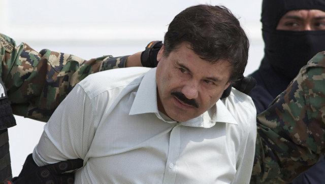 Мексиканский наркобарон Хоакин Гусман Лоэра, Архивное фото