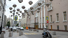 Здание Музыкального театра имени К.С. Станиславского и Вл.И. Немировича-Данченко. Архивное фото